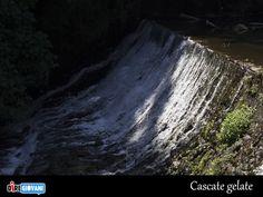 Ice Falls near Rome, Italy