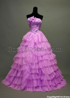 1st-dress.com Offers High Quality 15 Lilac Purple Quinceanera Dresses IMG_7101,Priced At Only US$198.00 (Free Shipping)