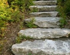 How to Make Stairs in a Sloped Garden | eHow.com