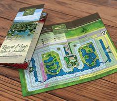 Motorcoach RV Resort Tri-Fold Brochure Design