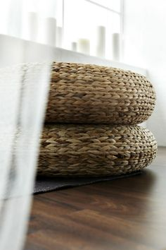 IKEA Fan Favorite: ALSEDA stool. Comfortable exrta seating for guests and, when stacked, these fan faves make a great sidetable.
