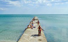 Bulgarian beach in Balchik
