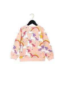 2 mini rodini unicorn sweatshirt pink