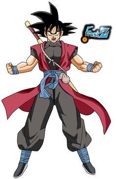 Goku Xeno by Frost-Z on DeviantArt