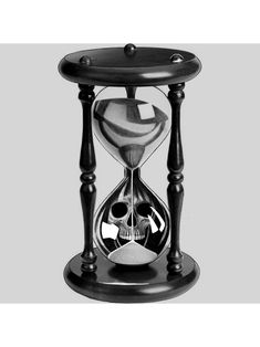 Hourglass Drawing, Hourglass Tattoo, Ny Ink, Watch Drawing, Dope Tattoos, Realism Tattoo, Black And Grey Tattoos, Compass, Blackwork