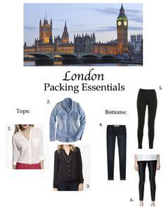 London Paking Essentials p1 02.18.13