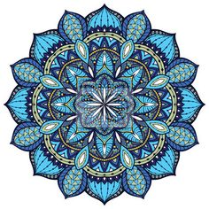 Wall Mural Vector, elegant mandala, with intricate detail.
