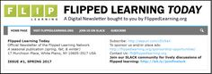 Introducing FLIPPED LEARNING TODAY, our new Digital Newsletter - Flipped Learning Network Hub #flippedlearning #flipclass