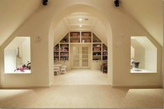built-ins around the door by francisca