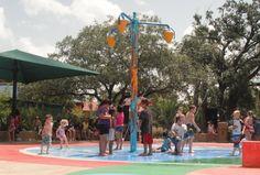 Houston Zoo Splash Pad!  Free with Zoo Admission.