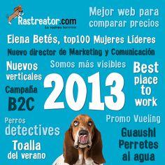 Resumen del año 2013 en Rastreator.com