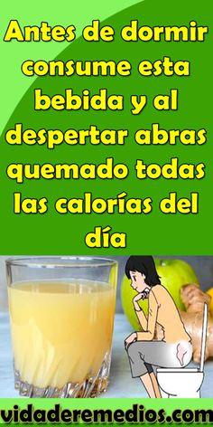 Antes de dormir consume esta bebida y al despertar abras quemado todas las calorías del día #bienestar #consejos #consume #bebida