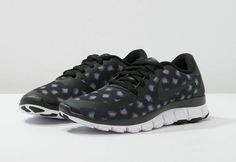 Nike Sportswear FREE 5.0 V4 Baskets basses - black/anthracite/dark grey/white prix promo Baskets Femme Zalando 115.00 € TTC