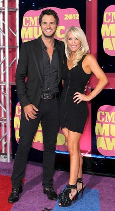 Luke Bryan and the gorgeous reality check haha ;)