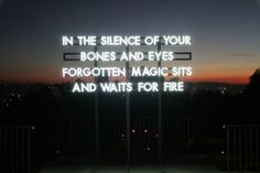 Poetic Billboards with Neons signs from Scottish writer and artist Robert Montgomery