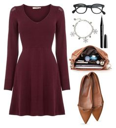 """""""Untitled #1350"""" by littledeath11 ❤ liked on Polyvore featuring J.Crew, Marc Jacobs and Oasis"""