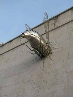 Street art and sculpture Kovář-platnéř-zbrojíř-zámečník