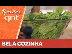 Receita de salada verde com molho de cenoura | Bela Gil