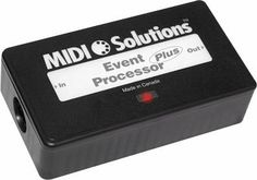 MIDI Solutions MIDI Event Processor Plus by MIDI Solutions. $155.99. The MIDI Solutions Event Processor Plus offers all of the functionality of the MIDI Solutions Event Processor, with 32 settings instead of the Event Processor's 10, and 8 variable storage locations instead of the Event Processor's 2. Each of the Event Processor Plus's 32 settings can be programmed with a unique MIDI processing function. By combining these settings the Event Processor Plus becomes an extrem...