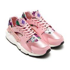 Women's Nike Air Huarache Pink Floral