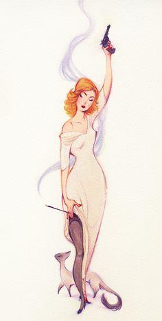 Femme fatale. 2012. Gillian Grossman