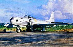 A USAF Lockheed RF-80A Shooting Star.