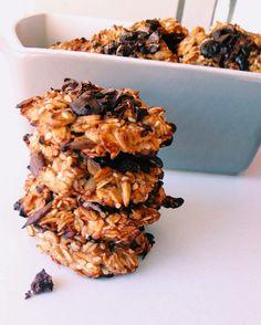 Na Cozinha de uma Universitária: Bolachas de Aveia e Chocolate