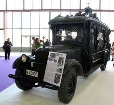 Just A Car Guy : hearse cars of the 1920's from Spain, a cultural thing that seems to have disappeared