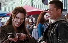 """Happy endings are just stories that haven't finished yet."" - Angelina Jolie in 'Mr. And Mrs. Smith'"