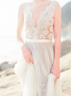 5 Bridesmaid Dress Trends We're Loving Right Now: mixing textures | Wedding Sparrow