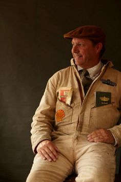 Vintage Mechanic Overall with Flat Cap