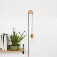 Pendant Lighting Kit, Wall Light, Wall Lamp, Edison Bulb, Minimal