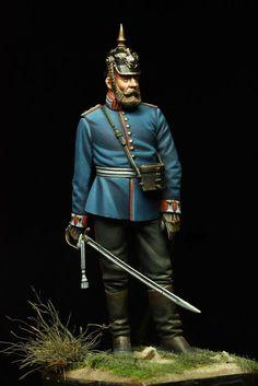 - 8th Foot Guard Hauptman - Franco-Prussian War - 1870-1871 - Trouvé sur le net