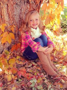 DIY Fall Pictures - for Peyton