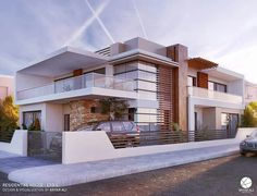 All Time Modern House Designs – My Life Spot Bungalow House Design, House Front Design, Modern House Design, Residential Architecture, Contemporary Architecture, Architecture Design, Contemporary Houses, Building Design, Building A House