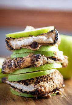 Peanut butter Apple S'mores