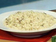 Risotto al radicchio e queso gorgonzola (risotto de radicchio y queso gorgonzola)
