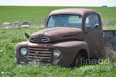 Classic Ford Pick-up Truck.