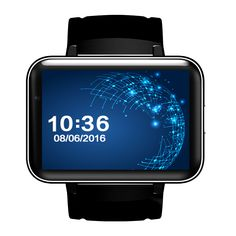 DM98 Bluetooth Smart Watch 2.2 inch Android 4.4 OS 3G Smartwatch Phone MTK6572 Dual Core 1.2GHz 4GB ROM Camera WCDMA GPS