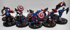 Captain America, Heroclix.