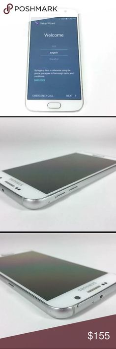 Samsung Galaxy S4 32GB White Unlocked Cellphone Up for sale: Samsung Galaxy S4 32GB White Unlocked Verizon 4G LTE GSM Smartphone  Functionality:  Fully functional and ready for use. All previous content has been erased and reset to the original factory settings.   Cosmetics: Please see the actual photos, mint condition SAMSUNG GALAXY S4 Other
