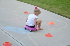 Make a Track: Get Moving & Practice Motor Skills!
