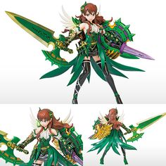 PVC Puzzle & Dragons Vol 07 Thorned Guardian Graceful Valkyrie Game Prize Figure Now available in stock from: www.figurecentral.com.au #animefigure #valkyrie #pvcfigure #figurecentral