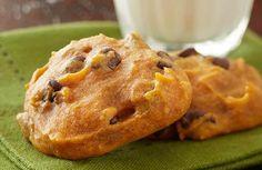 pumpkin chocolate chip cookies - grocery store