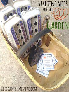 Planting Fall Garden Seeds