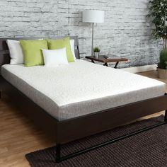 Somette Icon Sleep by Sommette 8-inch California King-size Cool Sleep Gel Memory Foam Mattress