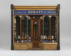 The Queen has an Eye-Watering Collection of Miniature Things Dolls House Shop, English Royal Family, Royal Collection Trust, Messy Nessy Chic, Victorian London, Dollhouse Miniatures, Dollhouse Ideas, Legos, Vintage Shops