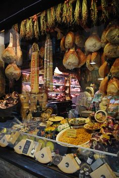 Bologna, Italy - The Quadrilatero Food Market - Heaven!!  Loved it!!!  Want to go back and eat more!!!