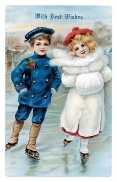 Vintage Christmas Cards - 1 Dicembre, comincia il cammino