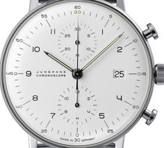 Junghans Chronoscope by Max Bill